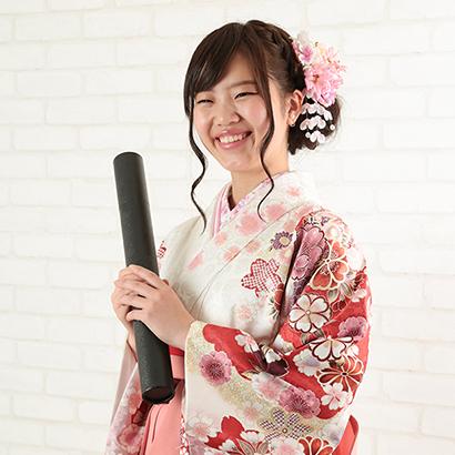 卒業式の袴撮影