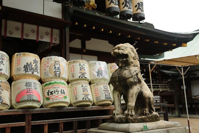 大阪天満宮の境内写真