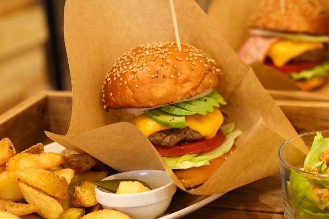 The Grateful Burgerのハンバーガー写真