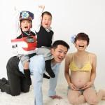 マタニティフォトスタジオHONEY&CRUNCHの家族・夫婦見本写真