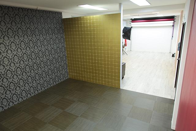 成人式前撮り写真撮影スタジオHONEY&CRUNCH京都店の店内写真