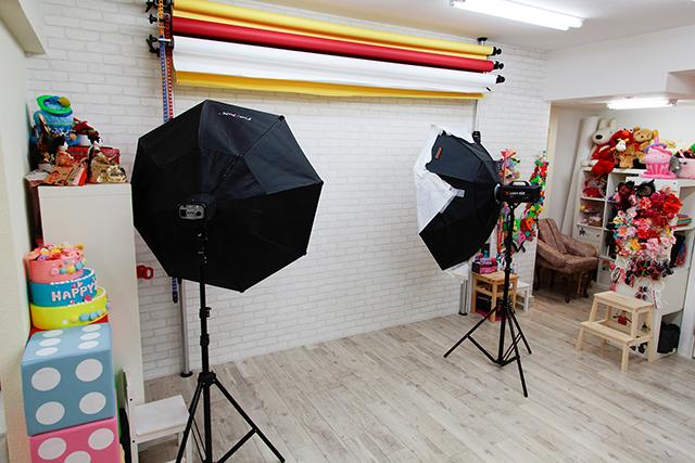 成人式前撮り写真撮影スタジオHONEY&CRUNCHあべの・帝塚山店のスタジオ写真
