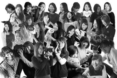 撮影スタッフは全員女性