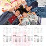 大阪で七五三写真撮影ならハニーアンドクランチのオプション6切カレンダー05