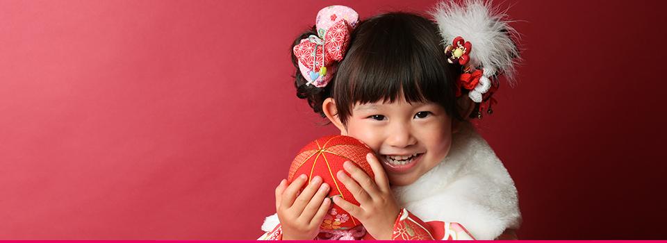 3歳女の子和装七五三フォトギャラリーヘッダ写真