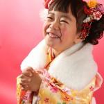 大阪の七五三写真撮影スタジオ・ハニーアンドクランチの3歳女の子和装のフォトギャラリーA104