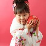 大阪の七五三写真撮影スタジオ・ハニーアンドクランチの3歳女の子和装のフォトギャラリーA148