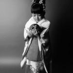 大阪の七五三写真撮影スタジオ・ハニーアンドクランチの3歳女の子和装のフォトギャラリーA202