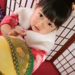 大阪の七五三写真撮影スタジオ・ハニーアンドクランチの3歳女の子和装のフォトギャラリーA204
