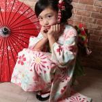 大阪の七五三写真撮影スタジオ・ハニーアンドクランチの7歳女の子和装のフォトギャラリーB057