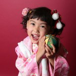 大阪の七五三写真撮影スタジオ・ハニーアンドクランチの7歳女の子和装のフォトギャラリーB062