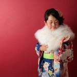 大阪の七五三写真撮影スタジオ・ハニーアンドクランチの7歳女の子和装のフォトギャラリーB150