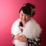 大阪の七五三写真撮影スタジオ・ハニーアンドクランチの7歳女の子和装のフォトギャラリーB188
