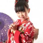 大阪の七五三写真撮影スタジオ・ハニーアンドクランチの7歳女の子和装のフォトギャラリーB189