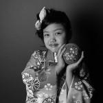 大阪の七五三写真撮影スタジオ・ハニーアンドクランチの7歳女の子和装のフォトギャラリーB190