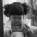 大阪の七五三写真撮影スタジオ・ハニーアンドクランチの3歳女の子和装のフォトギャラリーA052