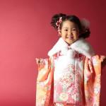 大阪の七五三写真撮影スタジオ・ハニーアンドクランチの3歳女の子和装のフォトギャラリーA059