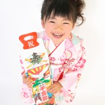 大阪の七五三写真撮影スタジオ・ハニーアンドクランチの3歳女の子和装のフォトギャラリーA165
