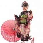 大阪の七五三写真撮影スタジオ・ハニーアンドクランチの7歳女の子和装のフォトギャラリーB121