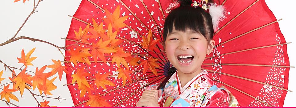 7歳女の子の七五三フォトギャラリーヘッダ写真