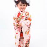 大阪の七五三写真撮影スタジオ・ハニーアンドクランチの3歳女の子和装のフォトギャラリーA002