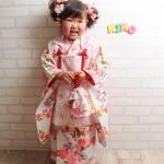 大阪の七五三写真撮影スタジオ・ハニーアンドクランチの3歳女の子和装のフォトギャラリーA007