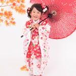 大阪の七五三写真撮影スタジオ・ハニーアンドクランチの3歳女の子和装のフォトギャラリーA012