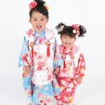 大阪の七五三写真撮影スタジオ・ハニーアンドクランチの3歳女の子和装のフォトギャラリーA015