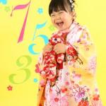 大阪の七五三写真撮影スタジオ・ハニーアンドクランチの3歳女の子和装のフォトギャラリーA018
