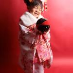 大阪の七五三写真撮影スタジオ・ハニーアンドクランチの3歳女の子和装のフォトギャラリーA019