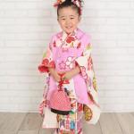 大阪の七五三写真撮影スタジオ・ハニーアンドクランチの3歳女の子和装のフォトギャラリーA022