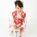 大阪の七五三写真撮影スタジオ・ハニーアンドクランチの3歳女の子和装のフォトギャラリーA026