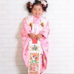 大阪の七五三写真撮影スタジオ・ハニーアンドクランチの3歳女の子和装のフォトギャラリーA029