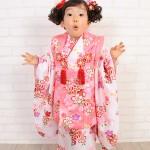大阪の七五三写真撮影スタジオ・ハニーアンドクランチの3歳女の子和装のフォトギャラリーA030