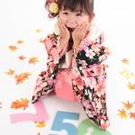 大阪の七五三写真撮影スタジオ・ハニーアンドクランチの3歳女の子和装のフォトギャラリーA037