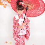 大阪の七五三写真撮影スタジオ・ハニーアンドクランチの3歳女の子和装のフォトギャラリーA039
