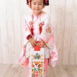 大阪の七五三写真撮影スタジオ・ハニーアンドクランチの3歳女の子和装のフォトギャラリーA041