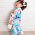 大阪の七五三写真撮影スタジオ・ハニーアンドクランチの3歳女の子和装のフォトギャラリーA045