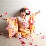 大阪の七五三写真撮影スタジオ・ハニーアンドクランチの3歳女の子和装のフォトギャラリーA046