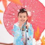 大阪の七五三写真撮影スタジオ・ハニーアンドクランチの3歳女の子和装のフォトギャラリーA047