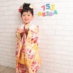 大阪の七五三写真撮影スタジオ・ハニーアンドクランチの3歳女の子和装のフォトギャラリーA049