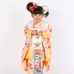 大阪の七五三写真撮影スタジオ・ハニーアンドクランチの3歳女の子和装のフォトギャラリーA053