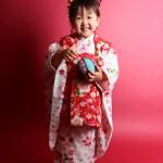 大阪の七五三写真撮影スタジオ・ハニーアンドクランチの3歳女の子和装のフォトギャラリーA064