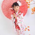 大阪の七五三写真撮影スタジオ・ハニーアンドクランチの3歳女の子和装のフォトギャラリーA065