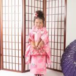 大阪の七五三写真撮影スタジオ・ハニーアンドクランチの3歳女の子和装のフォトギャラリーA066