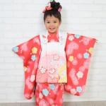 大阪の七五三写真撮影スタジオ・ハニーアンドクランチの3歳女の子和装のフォトギャラリーA074