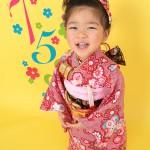 A082大阪の七五三写真撮影スタジオ・ハニーアンドクランチの3歳女の子和装のフォトギャラリー