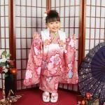 A083大阪の七五三写真撮影スタジオ・ハニーアンドクランチの3歳女の子和装のフォトギャラリー