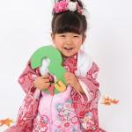 A087大阪の七五三写真撮影スタジオ・ハニーアンドクランチの3歳女の子和装のフォトギャラリー