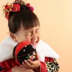 大阪の七五三写真撮影スタジオ・ハニーアンドクランチの3歳女の子和装のフォトギャラリーA094